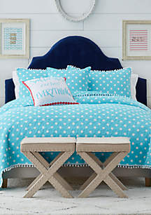 Crown & Ivy™ Melody Dot Quilt Collection