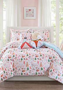 Lightning Bug Forest Friends Bedding Collection