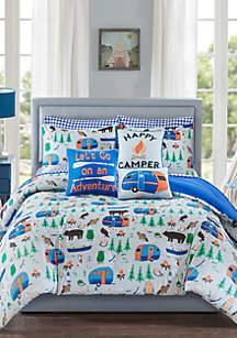 Lightning Bug Happy Camper Bedding Collection