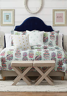 Crown & Ivy™ Tara Pineapple Bedding Collection