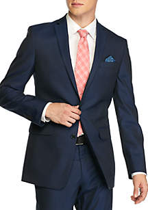 Navy Slim-Fit Tailored Suit Collection