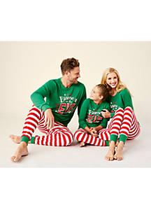6608c1c51d Pajamas. MERRY Wear Elf Pajamas for the Family