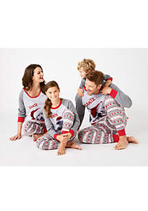 MERRY Wear Santa Paws Pajamas for the Family