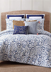 Oceanfront Resort Indienne Paisley Quilt Collection