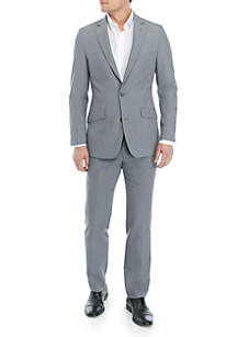 Light Gray Stretch Suit Separate Collection