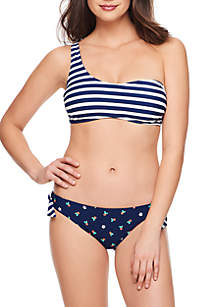 Vera Bradley Cabana Stripe and So Sweet Reversible Swim Collection