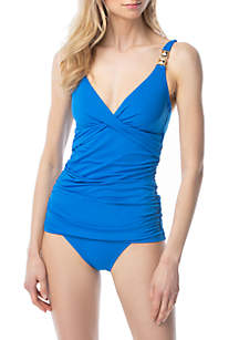 MICHAEL Michael Kors Iconic Solids Swim Collection
