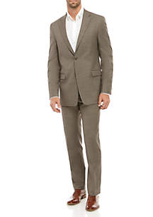 Tommy Hilfiger Sharkskin Stretch Classic Fit Suit Collection