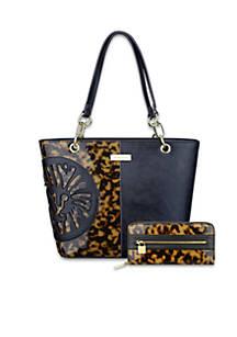 Anne Klein Tortoiseshell Handbag Collection