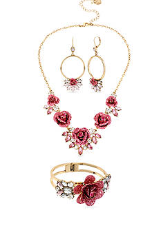 Betsey Johnson Coming Up Roses Jewelry Collection