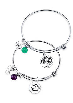 Belk Silverworks Life's Moments Bangle Collection