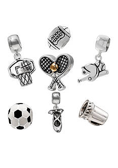 Belk Silverworks Team Mom Originality Bead Collection
