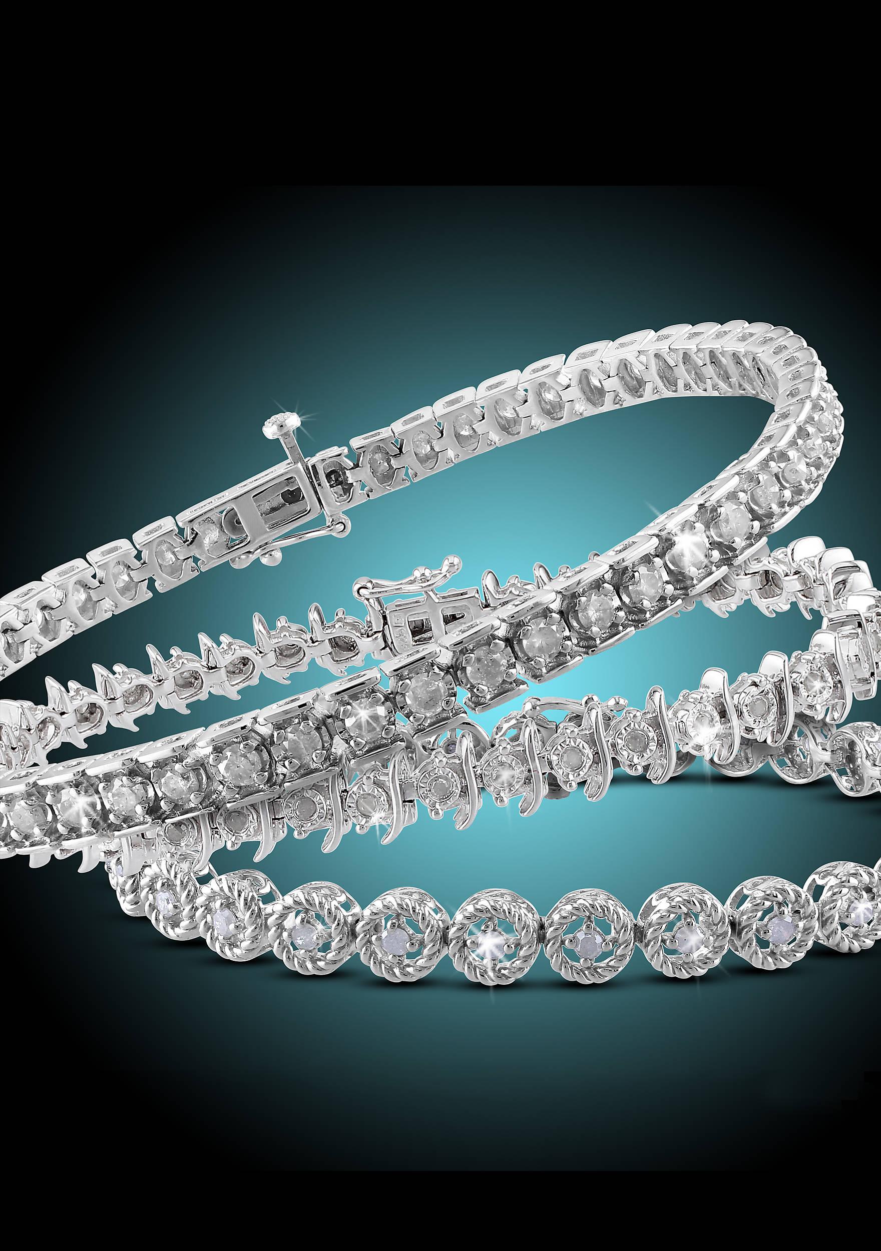 Belk & Co. Belk & Co. Diamond Tennis Bracelet Fine Jewelry ...