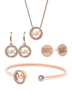 Michael Kors Rose Gold MK Forever Jewelry Collection