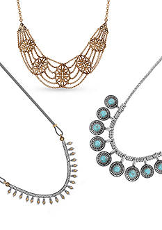 Lucky Brand Free-Spirited Collars Jewelry Collection