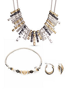 Nine West Tri-Tone Perfection Jewelry Collection