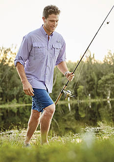 Columbia PFG Bahama™ II Long Sleeve Shirt, Palmerston Peak Shorts & PFG Brewha II Shorts