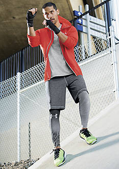 Under Armour® Anemo Jacket, Tech V-Neck T-Shirt, Men's Raid Shorts & Armour Graphic Compression Leggings