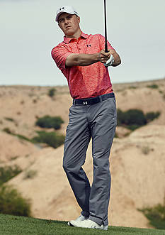 Under Armour® Jordan Spieth Tour Cap 2.0, Playoff Polo Shirt, Solid Matchplay Pants & Performance Belt