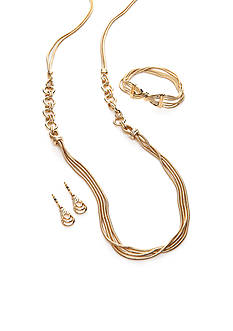Napier Chain Knot Jewelry Collection