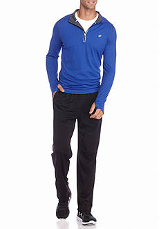 SB Tech® Run 1/4 Zipper Pullover & Classic Fit Mesh Athletic Pants