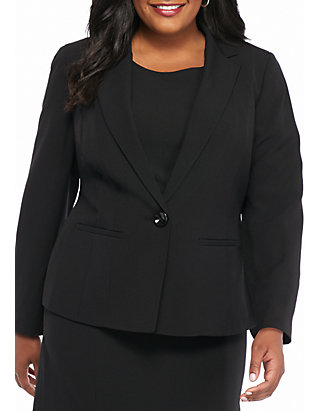 Kasper Plus Size Black Dress Suit | belk