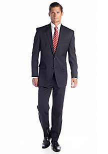 Chaps Chaps Gray Stripe Suit Separates