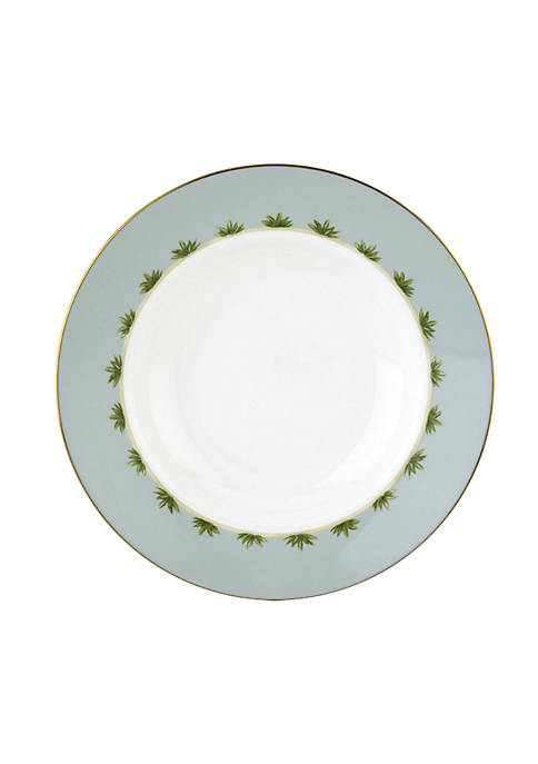 British Colonial Tradewind Rim Soup Bowl
