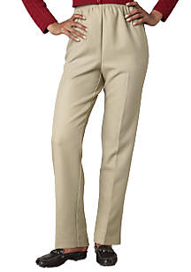Solid Pull-On Pant