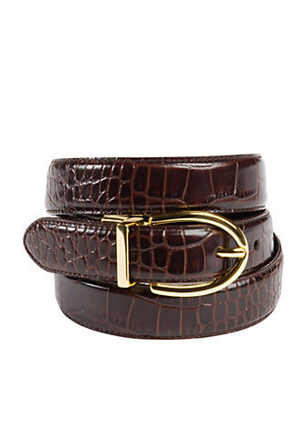 ff1443eedd Lauren Ralph Lauren Reversible Leather Belt