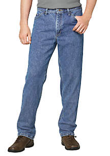 Regular-Fit Straight Leg Jeans