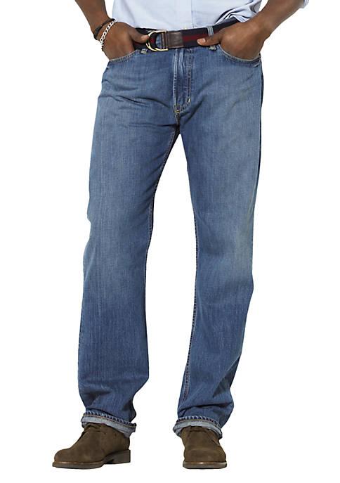 Big & Tall Classic Fit Harrison Flat Front Jeans