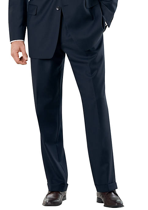 Classic Fit Navy Bone Suit Separate Pants