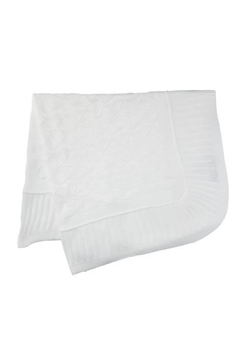 Elegant Baby Christening Blanket