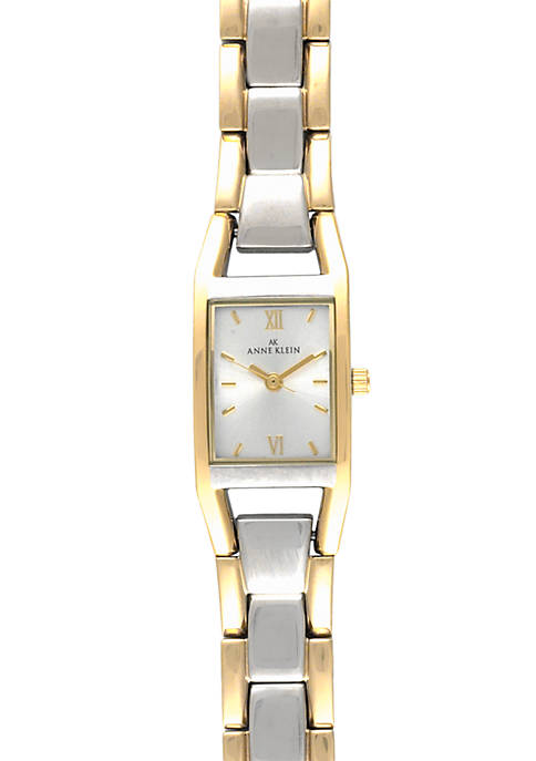 Anne Klein Womens Two Tone Watch