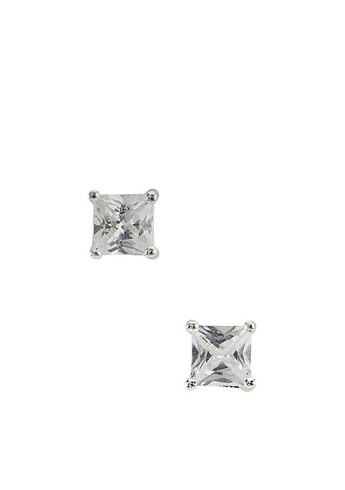Belk Silverworks Princess-Cut 5-mm. Basket Set Cubic Zirconia