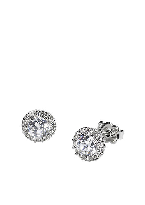 Nadri Classic Framed Stud Earrings