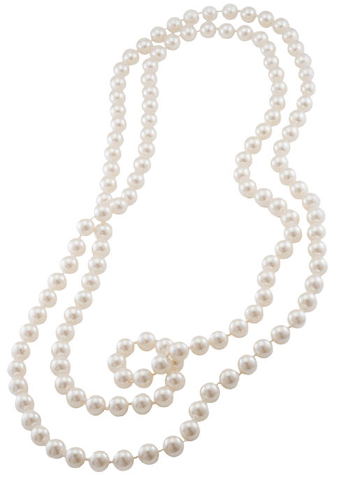 Carolee 72-in. 10-mm. Simulated Pearl Rope Necklace