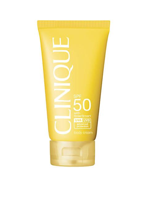 Clinique Sun SPF 50 Body Cream Sunscreen