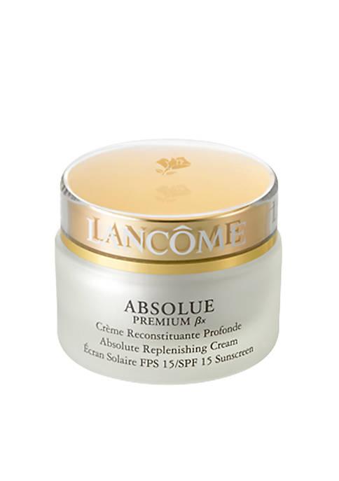Absolue Premium Bx Replenishing and Rejuvenating Lotion SPF 15 Sunscreen
