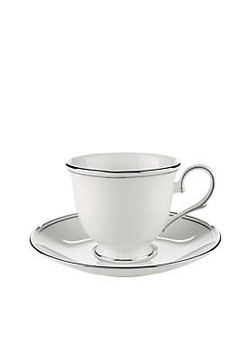 Federal Platinum Tea Cup