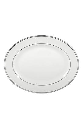 Federal Platinum Oval Platter 13-in.