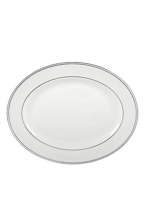 Lenox® Federal Platinum Oval Platter 13-in.