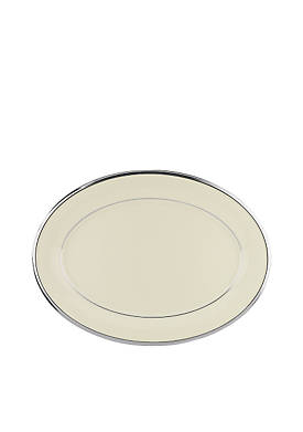 Solitaire Oval Platter 13-in.