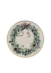 Winter Greetings Bread & Butter Plate