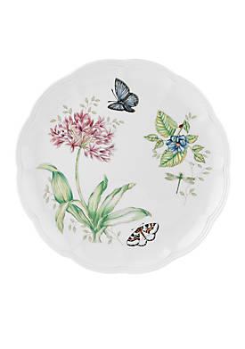 Butterfly Meadow Blue Butterfly Dinner Plate 10.75-in.