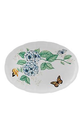 Butterfly Meadow Large Oval Platter 16-in.