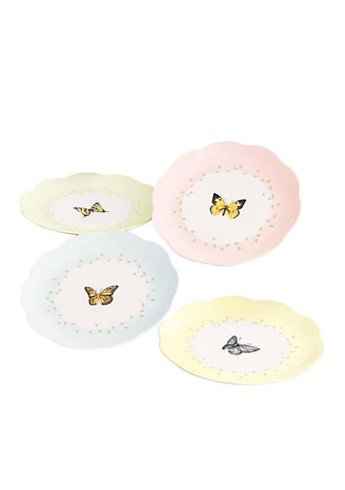 Lenox® Butterfly Meadow Set of 4 Dessert Plates
