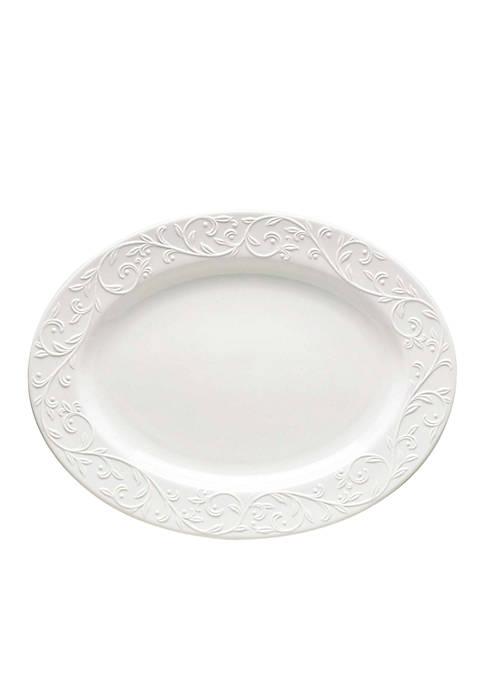 Lenox® Opal Innocence Carved Dinnerware Platter
