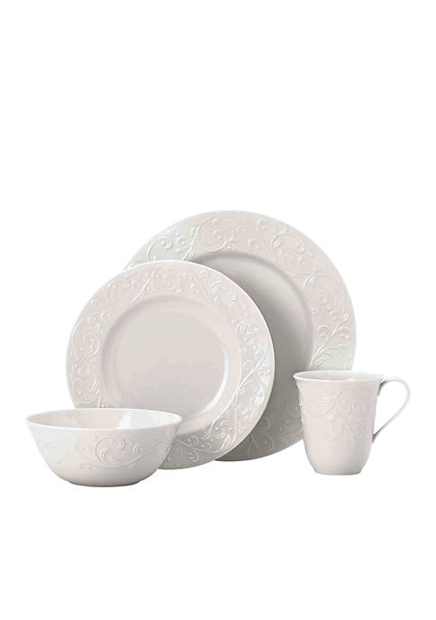 Lenox® Opal Innocence Carved 4-Piece Place Setting
